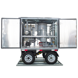 2000L/H Yuneng ZJA2BT High Voltage Double Stage Transformer Oil Purification Machine