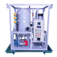 1800L/H Small Double-stage Dielectric Oil Purifier,Vacuum Transformer Oil Filtering Machine,Oil Purification