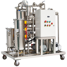Yuneng KYJ-10 2018 New Design Fire Resistant Oil Filter Machine Eh Oil Recycling Machine With Ce