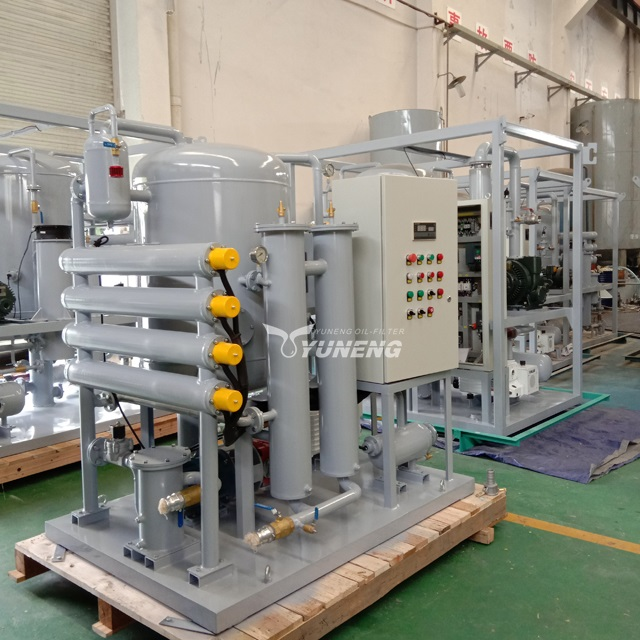 High Efficiency Vacuum Used Lubricant Oil Filter Machine