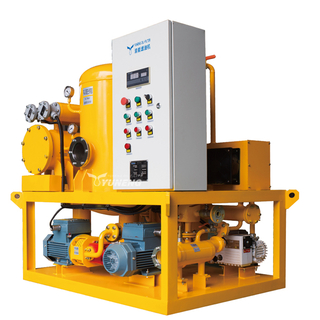 Online Coalescing and Vacuum Oil Treatment Plant