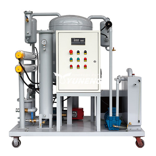 ZJC High Efficiency Waste Lubricant Oil Purification Machine , Oil Purifier