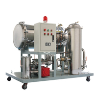 Coalescing Dehydration Mobile Vacuum Turbine Oil Purifier