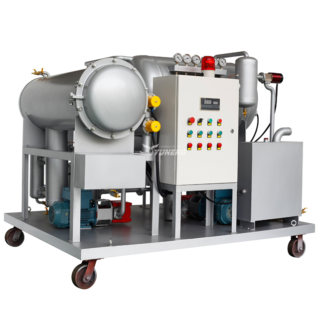 DYJC-6000 On-line Purification for Steam Turbine Oil Aircraft Fuel Oil System
